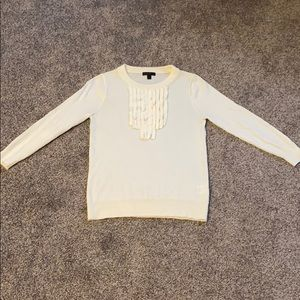 J Crew Tippi Sweater with Detail